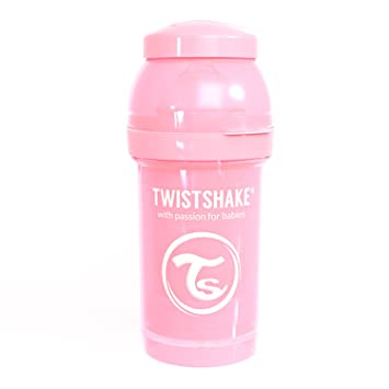 Months Twistshake Baby Bottle Nipple Anti-Colic 2 Pack 6