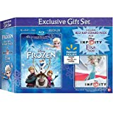 Exclusive Gift Set Frozen Includes Blu-ray Combo Pack Infinity Elsa Figure