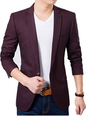 Menjestic Men's Formal/Party Blazer 2/Colours at amazon
