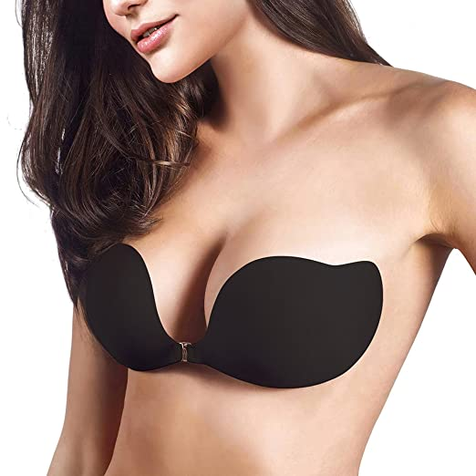 652e01f160 JUST BEHAVIORAdhesive Bra Strapless Backless Bra Invisible Bra Push Up Bra  Self Adhesive Silicone Bra (
