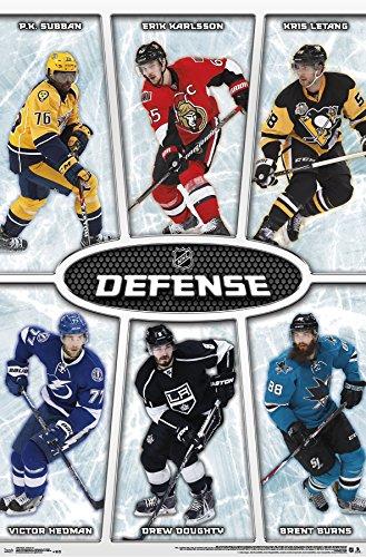 Trends International NHL Defense Wall Poster 22.375