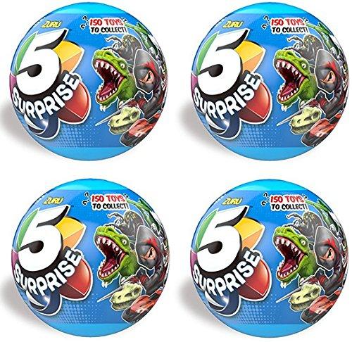 (ZURU 5 SURPRISE Collectible Toy Boys Series (4)