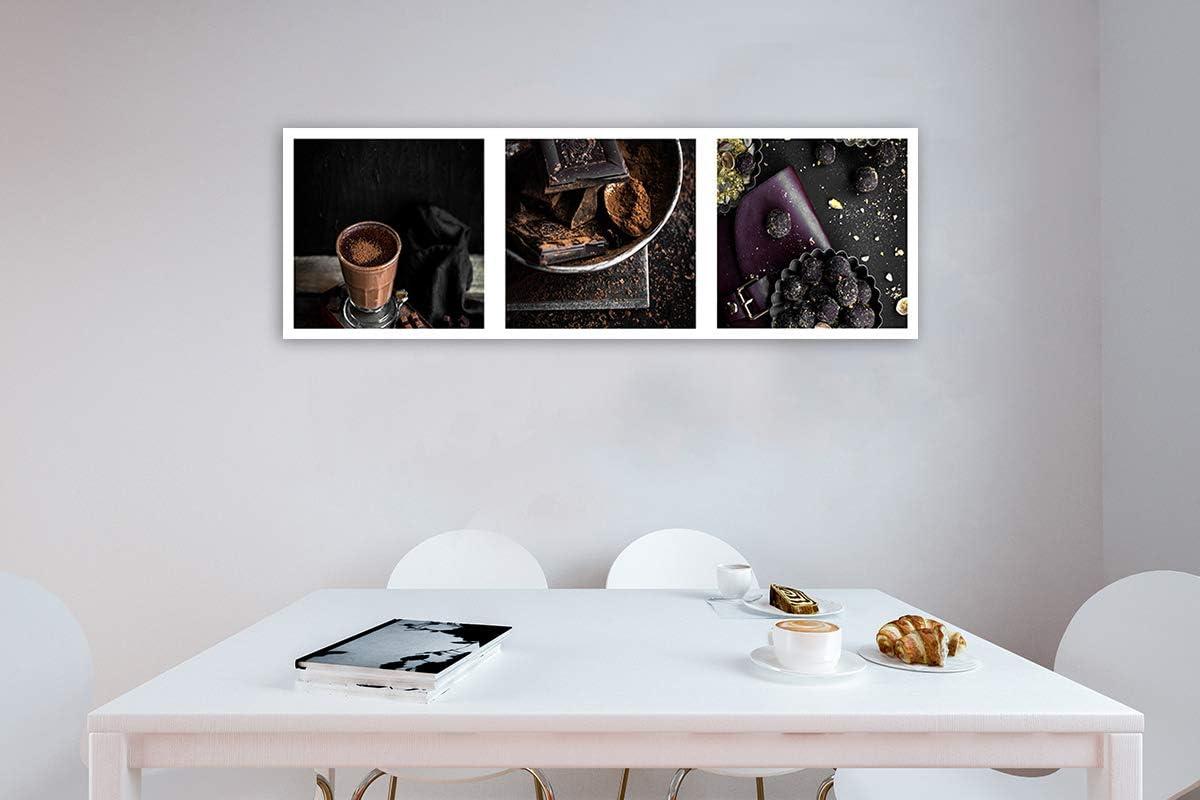 Feeby Imagen Foto Chocolate Café Cacao Mural Arte Decorativo Cocina Marrón  15x15 cm