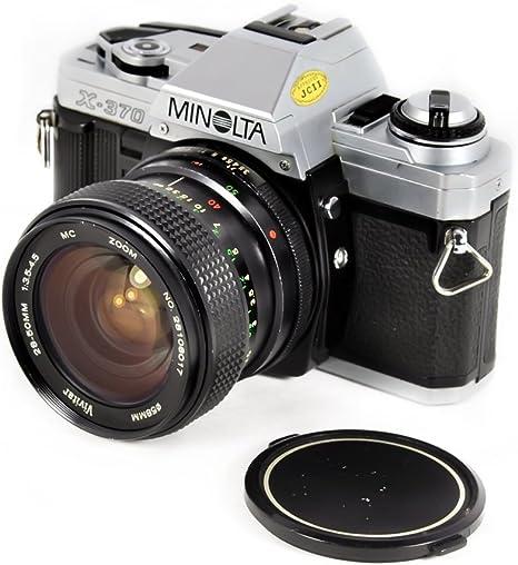 Minolta X370 35 mm de cámara de Cine réflex Manual, Vivitar 28 ...