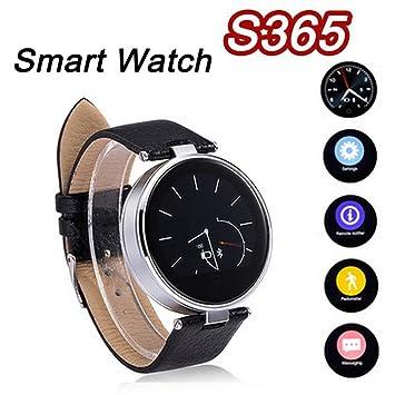 Newest ZGPAX S365 inteligente reloj Bluetooth SmartWatch muñeca relojes apoyo podómetro Snyc llamada SMS SOS para