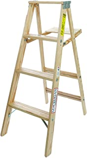 product image for Michigan Ladder 48 in. H Wood Step Ladder Type III 200 lb.