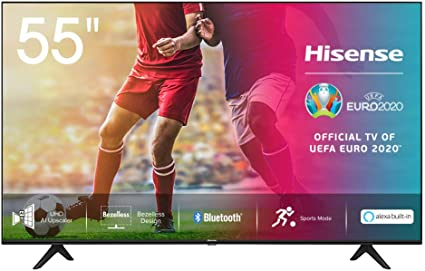 Hisense UHD TV 2020 55AE7000F - Smart TV Resolución 4K con Alexa integrada, Precision Colour, escalado UHD con IA, Ultra Dimming, audio DTS Studio Sound, Vidaa U 4.0: Amazon.es: Electrónica