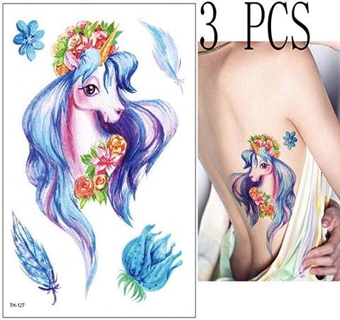 3pcs Geisha Tatouage Corps Peinture Bras