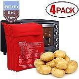 Amazon.com: 4 unidades de reutilizable olla patatas para ...