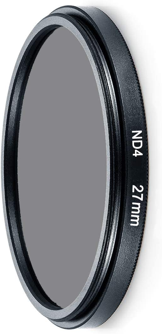 PinShang ND Filter Neutral Density ND2 ND4 ND8 Filtors 37 52 58 62 67 72 77 82mm Photography for Canon Nikon Sony Camera 46MM