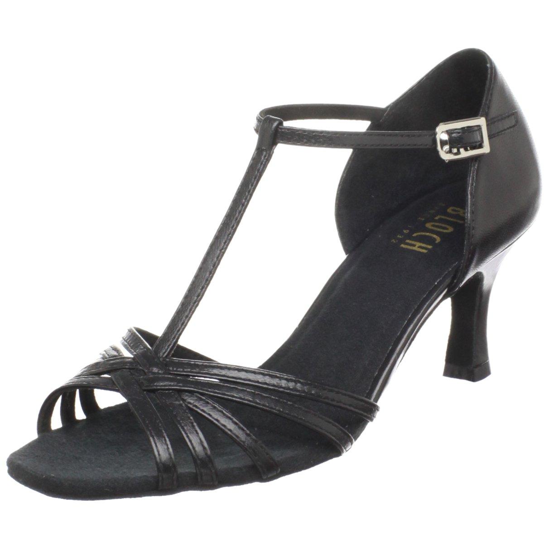 Bloch Women's Nicola Ballroom Shoe,Black,10 X(Medium) US