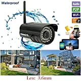 Waterproof WiFi Outdoor Wireless P2P IP Network CCTV Camera Security IR Night Vision DDNS