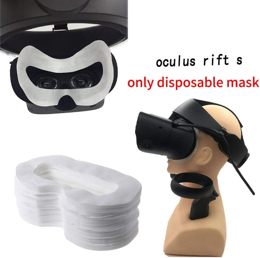 100Pcs M-a-s-q-u-e pour Yeux Jetable Chou Accessoire pour Oculus Quest