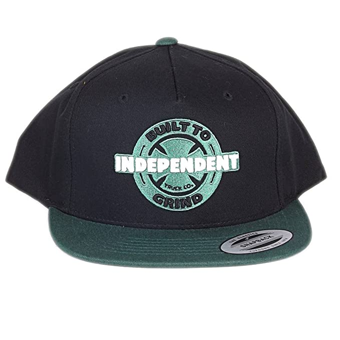 Independent - Sombrero para Hombre, Color Negro/Verde, Talla Talla ...