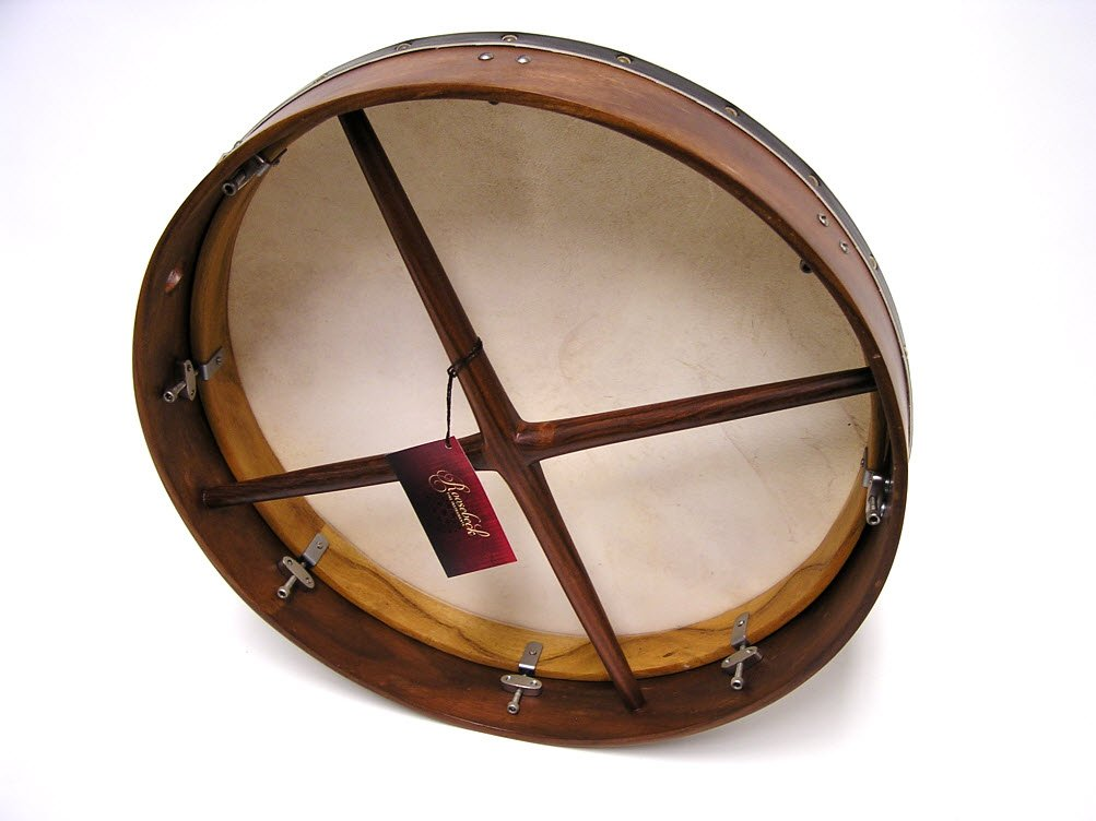 "Roosebeck Tunable Red Cedar Bodhran Cross-Bar 18 x 3.5"" BTN8RC"