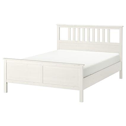 Ikea Hemnes Bedbank.Ikea Hemnes Bed Frame White Stain 140x200 Cm 55 1 8x78 3 4