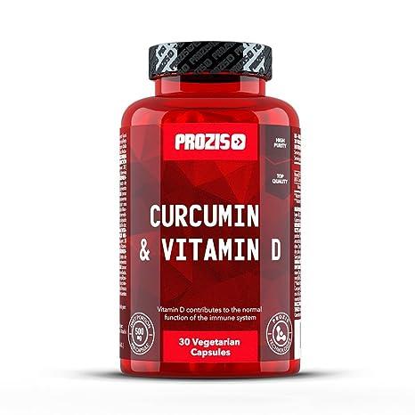 Prozis Curcumina y Vitamina D - 30 Cápsulas