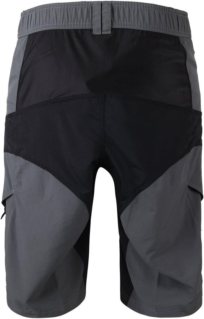 XM Pantaloni da Ciclismo Lunghi Uomo Pantaloni Lunghi MTB Bici Bike Sportivi Outdoor Campeggio Arrampicata Corsa Antivento
