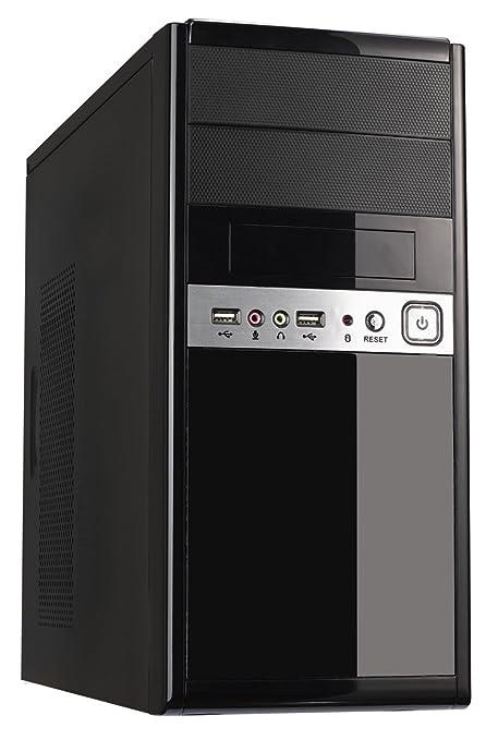 2 opinioni per CiT 1016- Case PC Micro ATX, con alimentatore 500W, colore: Nero