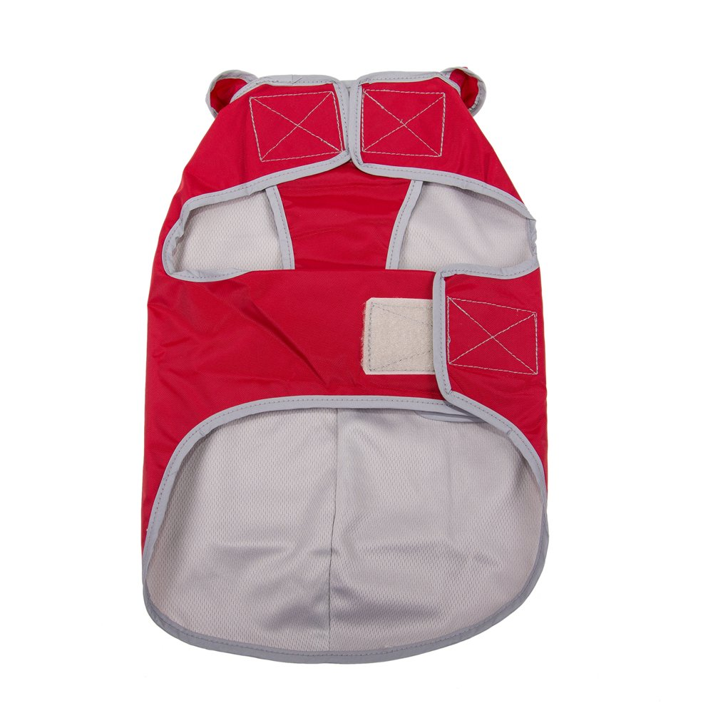 My Canine Kids Precision Fit Rain Slicker Large-red by My Canine Kids (Image #4)