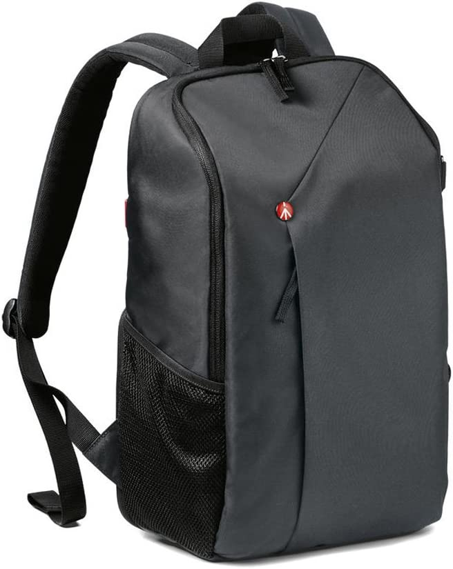 Manfrotto Lifestyle NX CSC Backpack Grey, Black (MB NX-BP-GY),Small - Grey