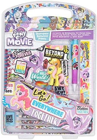 My Little Pony película diseño escuela Pack: Amazon.es: Oficina y papelería