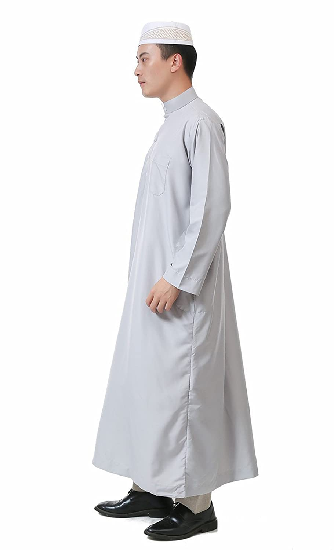 GladThink Mens Muslim Islamic Church Worship Long Thobe