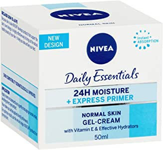 NIVEA Daily Essentials Express Primer Gel-Cream for Normal Skin, 50ml