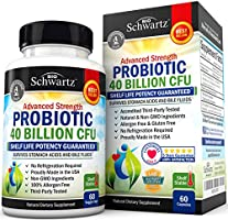 Probiotic 40 Billion CFU. Guaranteed Potency until Expiration. Patented Delay Release, Shelf Stable Probiotic Supplement with Prebiotics. Probiotic with Acidophilus. Best Probiotics for Women and Men