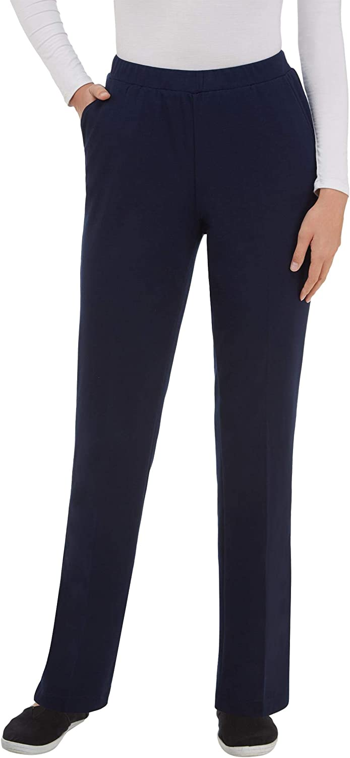 Plus Heather Feathertouch Pull-On Pant