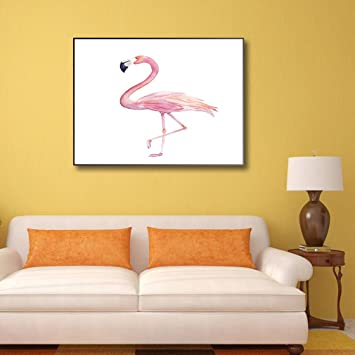 sourban Flamingo pared arte pinturas pájaros paisaje arte para hogar y oficina decoración