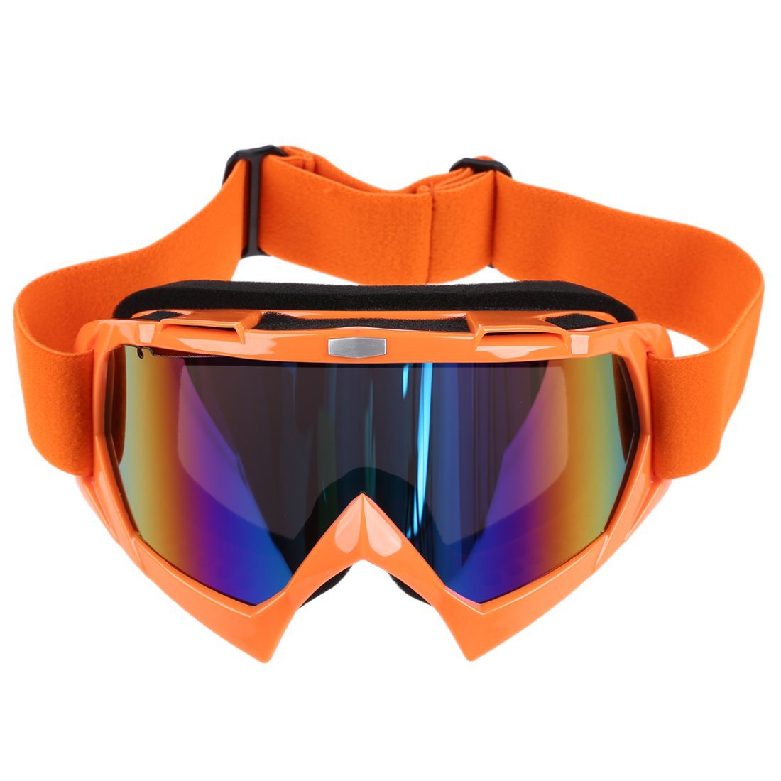 Cikuso Lentille Unique Motocross Goggles Lunettes de ATV Cross-Country Dirt Velo Moto Ski Rouge