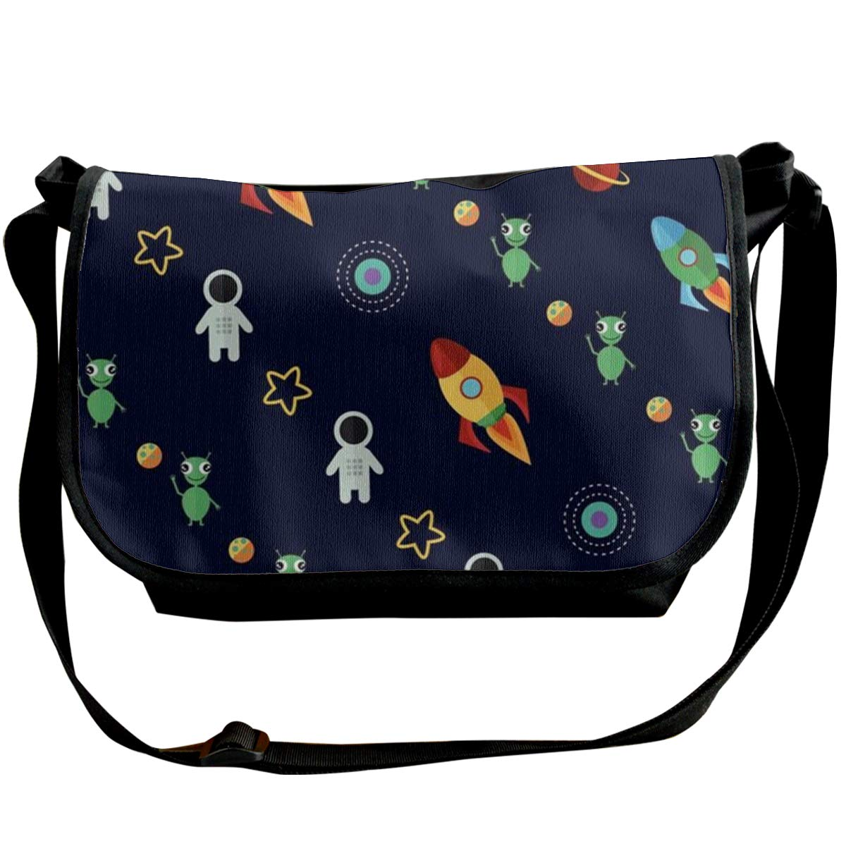 Futong Huaxia Rocket Boy Travel Messenger Bags Handbag Shoulder Bag Crossbody Bag Unisex