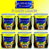 My Shaldan Lemon Scent Air Freshener 6 cans