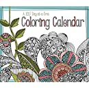 2017 Color You Year Day At A Time Box Calendar - 5 x 6