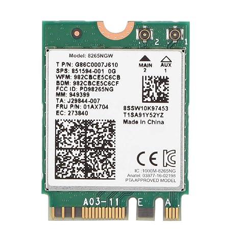 Bluetooth 4.2 Tarjeta WiFi NGFF/M2 2.4G/5G Tarjeta de Red ...