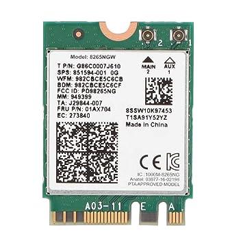 Tarjeta de Red inalámbrica, Bluetooth 4.2 para Intel 8265 ...