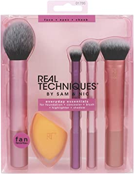 REAL TECHNIQUES Kit Completo De Brochas: Amazon.es: Belleza