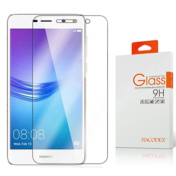 Amazon com: Nacodex for Huawei Y5 2017 Tempered Glass Screen