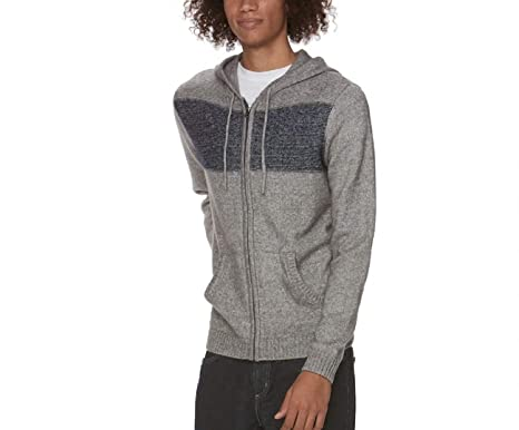 34495e3c Urban Pipeline Men's Colorblock Full-Zip Hoodie Sweater at Amazon ...