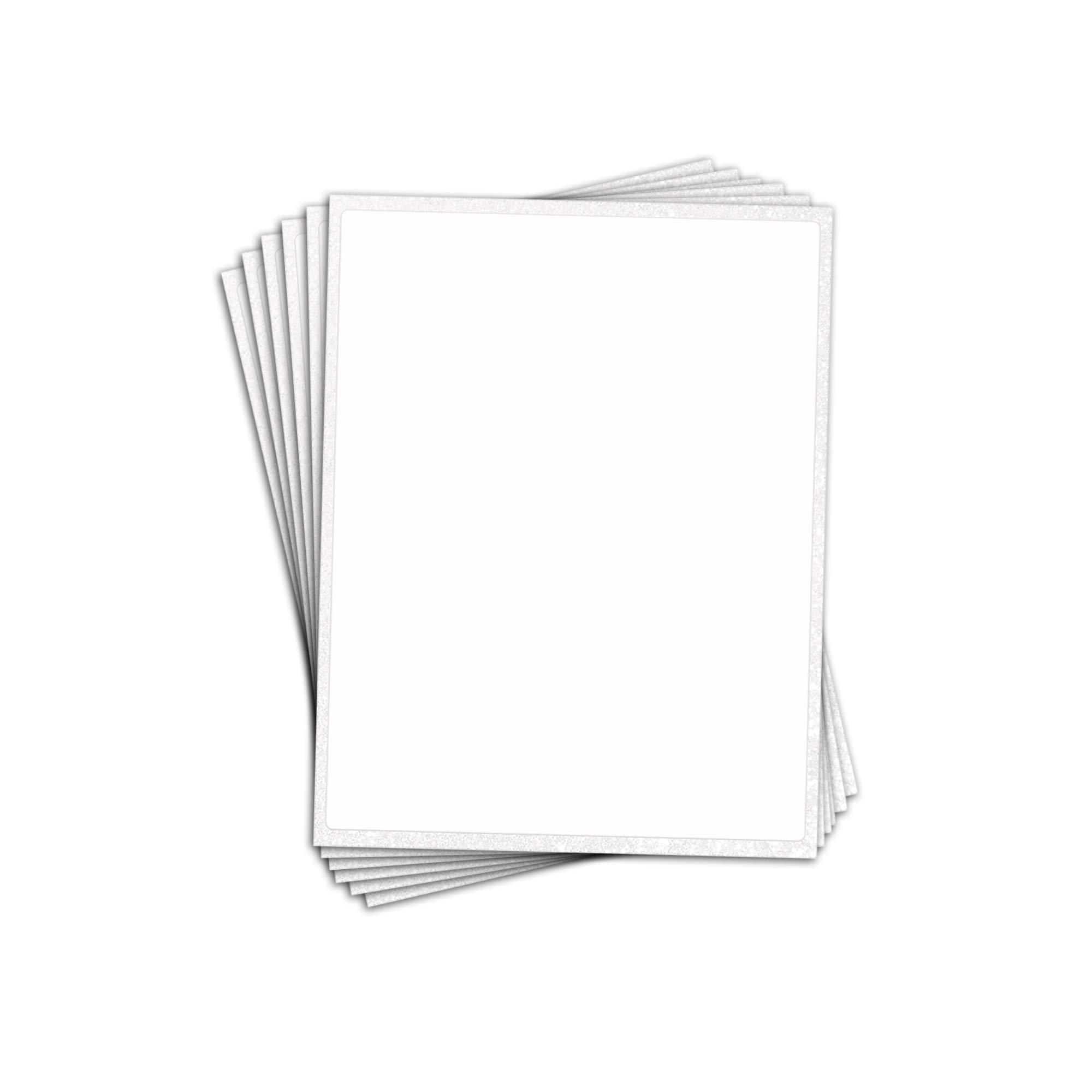 Frosting Sheets by Tasty Imaginations - 11x17 Inch Half Sheet Cake Size Icing Sheets 6 Pack