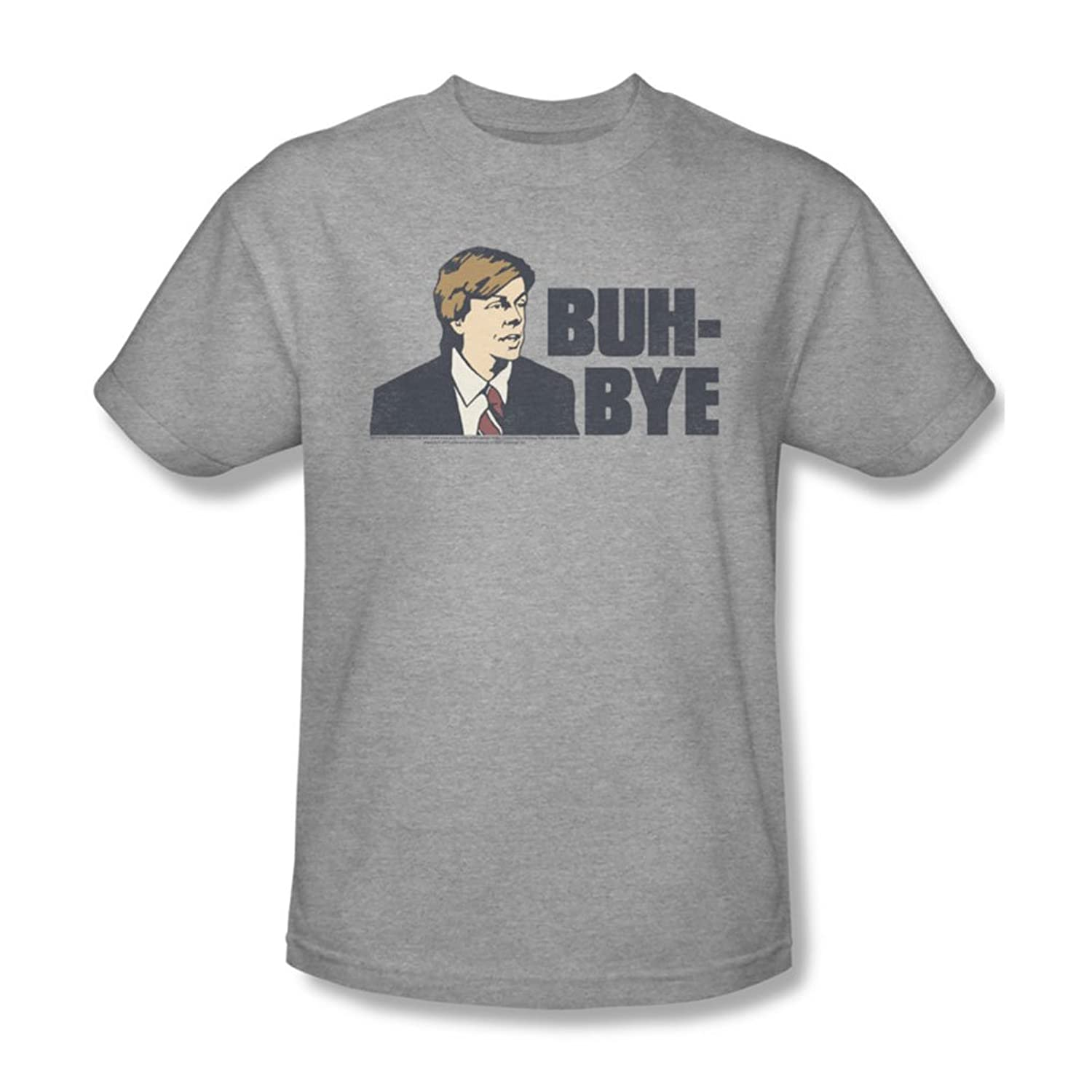 Saturday Night Live - Mens Buh Bye T-Shirt In Heather