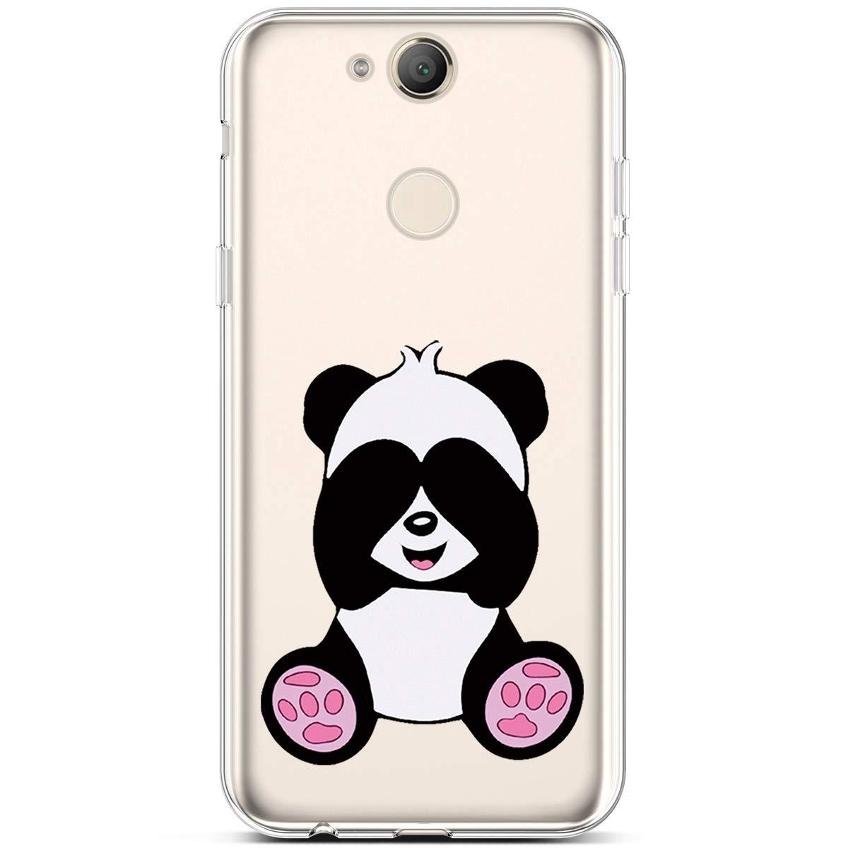 PHEZEN Sony Xperia XA2 Case Clear Cute Art Design