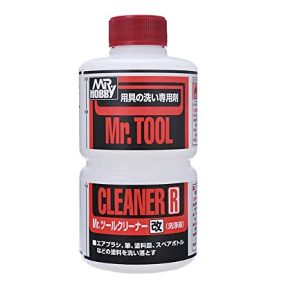 Gundam Mr. Tool Cleaner R 250ml. Bottle Hobby by GSI Creos: Toys & Games