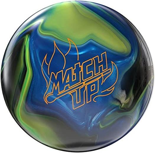 Storm Match Up Hybrid Bowling Ball- Black Yellow Royal