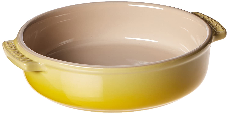Le Creuset of America Stoneware Tapas Dish, 17-Ounce, Soleil PG0075CB-141M