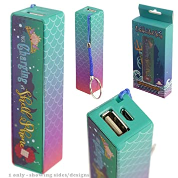 Amazon.com: Enchanted Seas sirena Cargador portátil USB ...