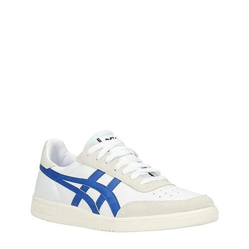Buy ASICS Men's White Blue Sneakers-7