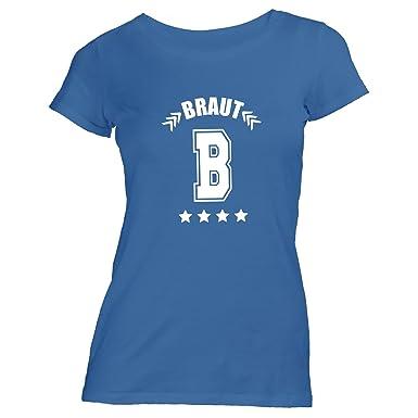 ShirtFlow Damen T-Shirt - Junggesellenabschied - B - Braut College - JGA  Polterabend Junggesellen: Amazon.de: Bekleidung