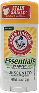 product image for ARM & HAMMER Essentials Natural Deodorant Unscented 2.50 oz (Pack of 2)
